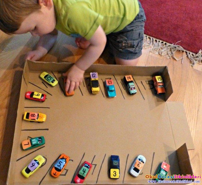 Araba Park Etme Oyunu Okul Oncesi Etkinlikleri Hayallerinizi