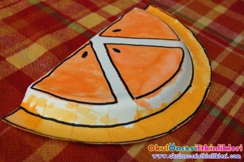 Portakal Dilimi Okul Oncesi Etkinlikleri Hayallerinizi