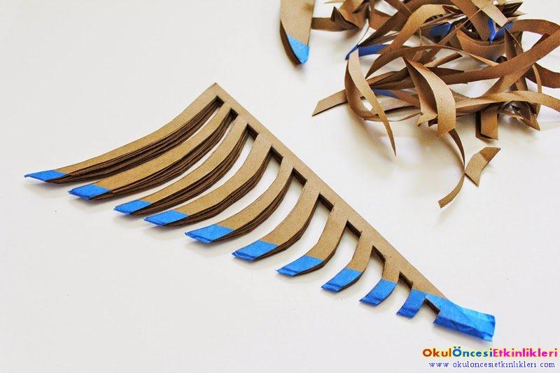 Origami Ile Orumcek Agi Yapimi Okul Oncesi Etkinlikleri