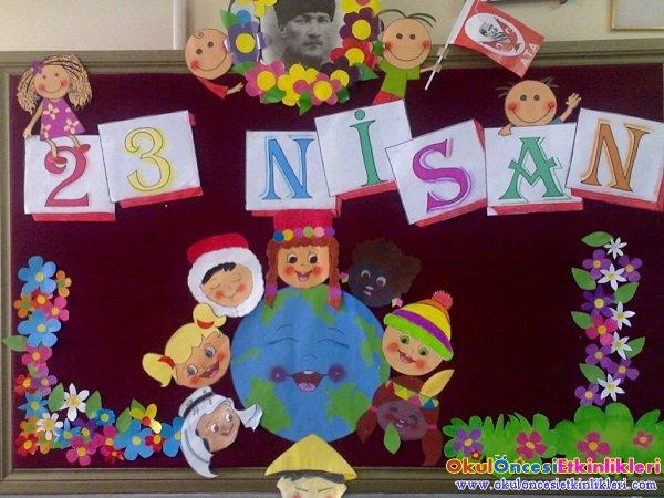 23 Nisan Etkinlik Resimleri Ornekleri Okul Oncesi Etkinlikleri