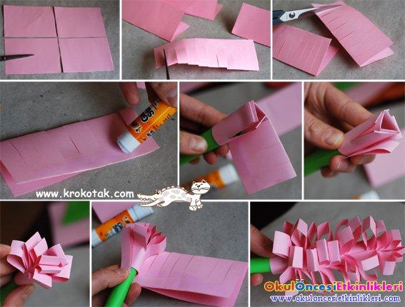 Поделки для девочек из бумаги своими руками