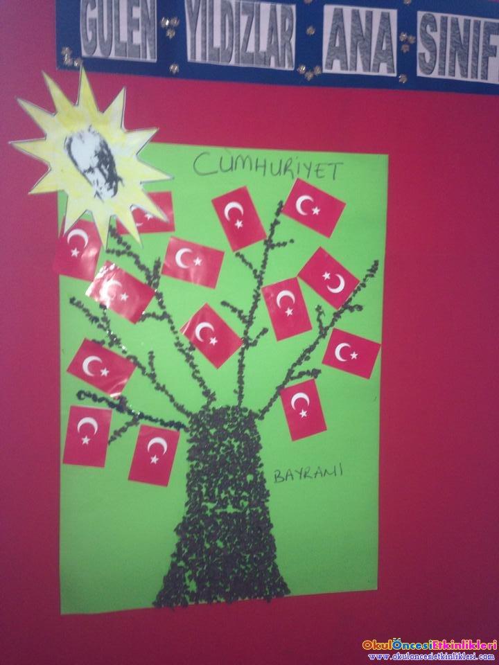 29 Ekim Cumhuriyet Bayrami Etkinlikleri Okul Oncesi Etkinlikleri