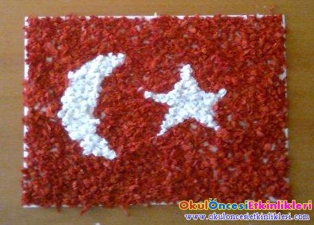 Turk Bayragi Projesi Okul Oncesi Etkinlikleri Hayallerinizi