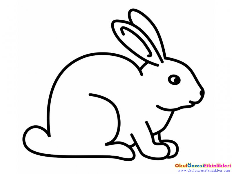 Картинки раскраска зайца 184