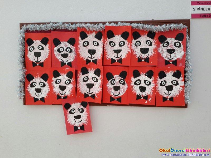 Catal Baskisindan Panda Okul Oncesi Etkinlikleri Hayallerinizi