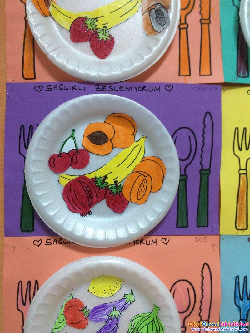 Saglikli Beslenmek Sart Okul Oncesi Etkinlikleri Hayallerinizi