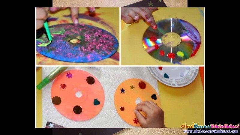 Cd Lerden Uzayda Gezegenler Yapiyoruz Okul Oncesi Etkinlikleri