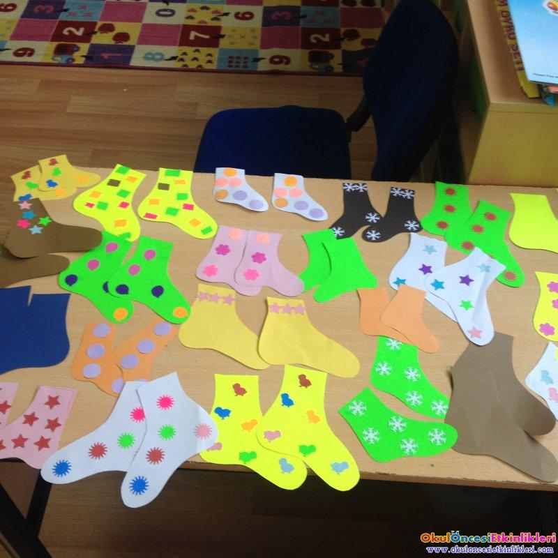Corap Takma Yarismasi Oyun Okul Oncesi Etkinlikleri