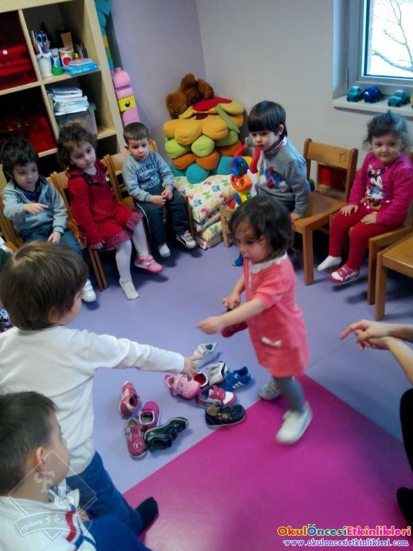 Ayakkabilar Kimin Oyunu Okul Oncesi Etkinlikleri Hayallerinizi
