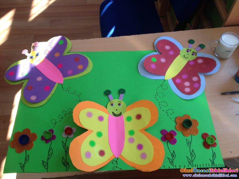 Kelebek Grup Etkinligi Okul Oncesi Etkinlikleri Hayallerinizi