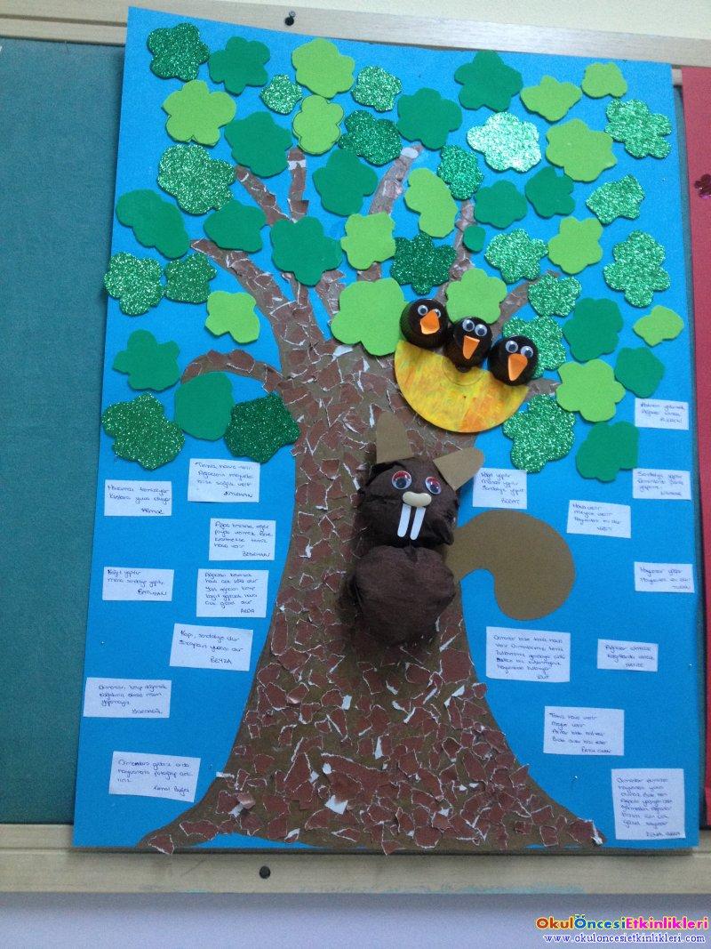 Orman Haftasi Grup Etkinligimiz Okul Oncesi Etkinlikleri